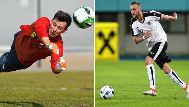 Heinz Lindner (links) ist erstmals seit 2019 wieder dabei. Jakob Janscher kehrt nach fast fünf Jahren Pause ins Nationalteam zurück. (Bild: Pesseintheiner, GEPA)