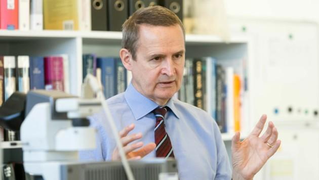 Primar Dr. Felix Offner leitet die Pathologie am Landeskrankenhaus in Feldkirch. (Bild: Mathis Fotografie)