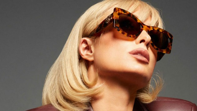 Paris Hilton posiert für die Lanvin Spring-Summer-2021-Kampagne. (Bild: www.PPS.at)