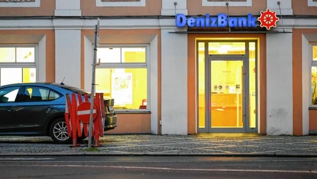 Diese Bank am Graben in Linz wurde von dem Bankräuber heimgesucht. (Bild: Alexander Schwarzl)