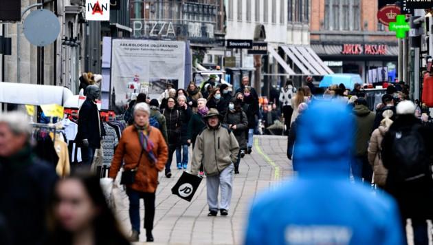 In Dänemark setzt man schon wieder kontinuierlich auf Öffnungsschritte. (Bild: AP/Ritzau Scanpix/Philip Davali)