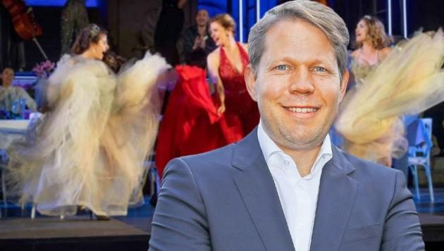Florian Wiegand, Konzert- und Medienchef der Salzburger Festspiele (Bild: Sandra Leis)