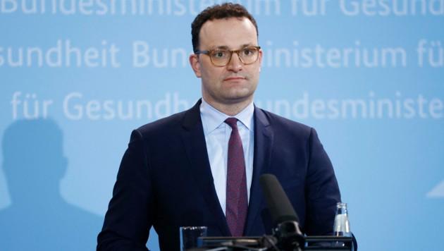 Deutschlands Bundesgesundheitsminister Jens Spahn (CDU) steht unter Druck (Bild: AFP)