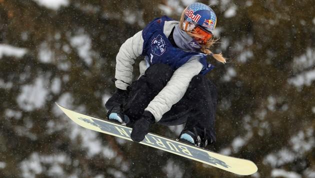 Anna Gasser (Bild: AFP/Getty/Ezra Shaw)