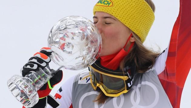Katharina Liensberger (Bild: AP)