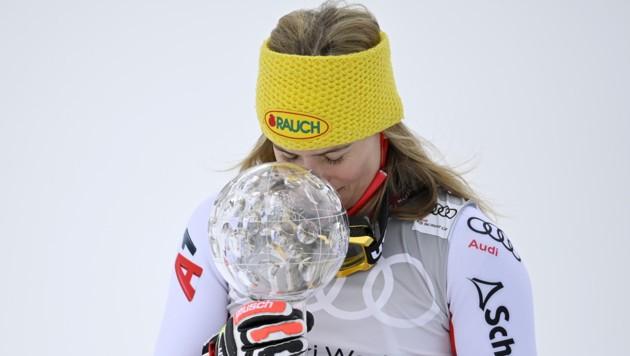 Katharina Liensberger (Bild: APA/KEYSTONE/GIAN EHRENZELLER)