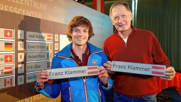 Filmstart ist für Herbst 2021 angesetzt: Julian Waldner spielt Ski-Legende Franz Klammer. (Bild: Starpix/Alexander TUMA)