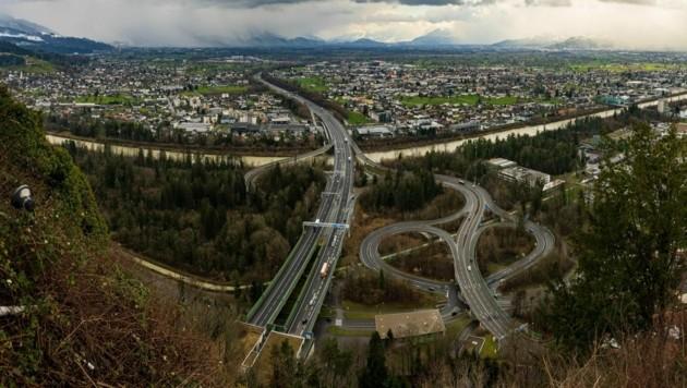 Das Rheintal wurde von der EU als überwiegend städtische Region eingestuft. (Bild: Stiplovsek Dietmar)