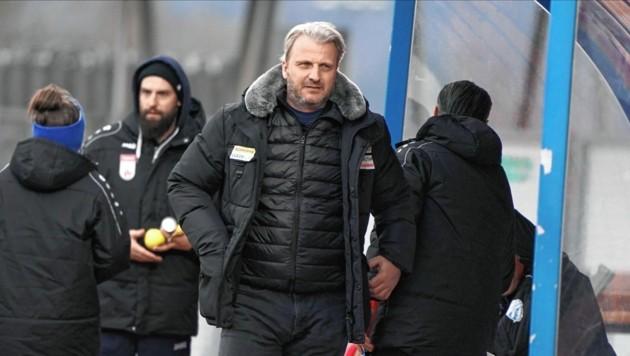 Die Trainerzukunft von Markus Schopp entscheidet sich Ende des Monats (Bild: Sepp Pail)
