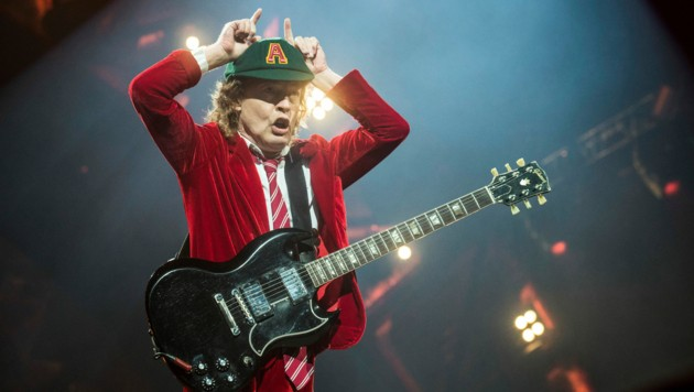 AC/DC-Gitarrist Angus Young (Bild: Amy Harris / AP / picturedesk.com)