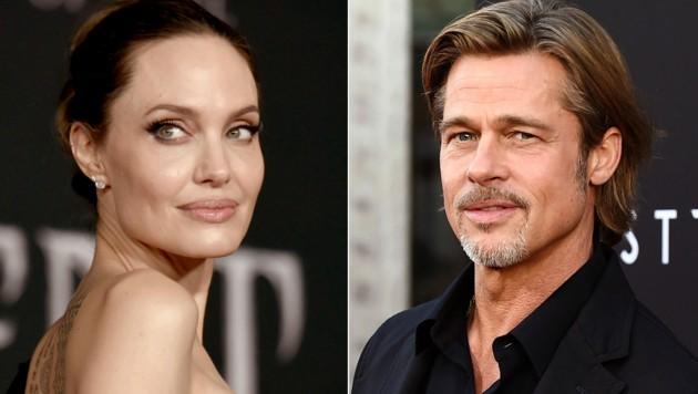 Angelina Jolie und Brad Pitt haben sich 2016 getrennt, der Krieg um das Sorgerecht für die Kinder tobt noch immer. (Bild: AP / picturedesk.com)
