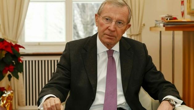 Landeshauptmann Wilfried Haslauer (Bild: Markus Tschepp)