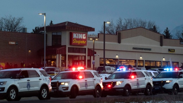 Dieser Supermarkt war der Schauplatz des Blutbads in Boulder. (Bild: AFP)