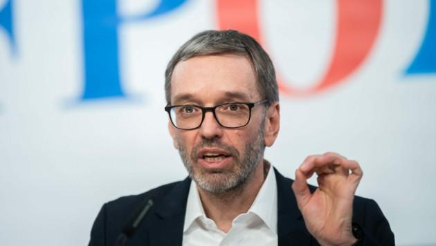 FPÖ-Klubobmann Herbert Kickl (Bild: APA/Georg Hochmuth)