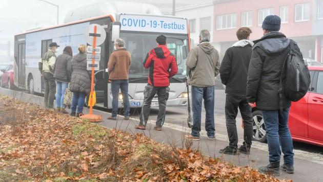 Das war einer der ersten Testbus-Einsätze (Bild: © Harald Dostal)