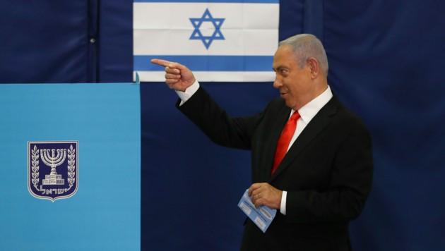 Benjamin Netanyahu (Bild: AP)