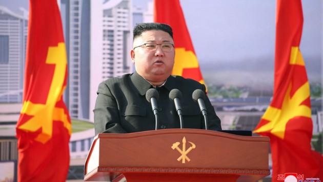 Nordkoreas Diktator Kim Jong Un (Bild: KCNA via KNS)