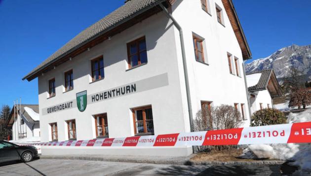 Der Diebstahl des Tresors mit den Vorwahlstimmen in Hohenthurn machte Schlagzeilen. (Bild: Uta Rojsek-Wiedergut)