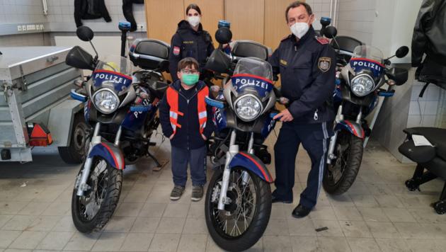 Der 7-jährige Christian aus Kärnten ist derzeit im Krebszentrum MedAustron in Wiener Neustadt in Behandlung. (Bild: SPK Wr. Neustadt)