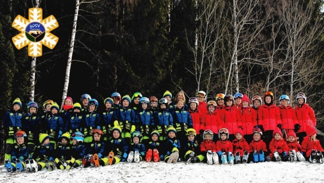 Die Kinder des WSV Turnau (Bild: WSV Turnau)