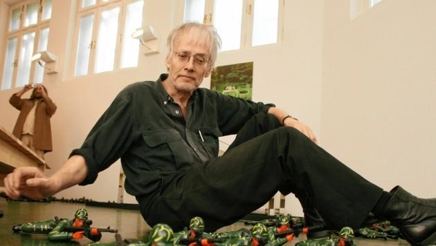Totalkünstler Timm Ulrichs (Bild: Jürgen Radspieler)