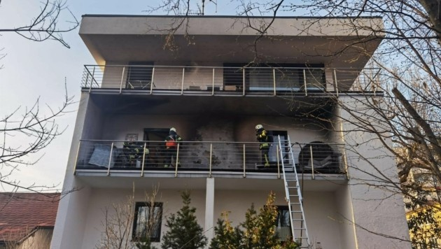 Zu dem Einsatz kam es bei einem Haus in der Lehener Straße 15 (Bild: Markus Tschepp)