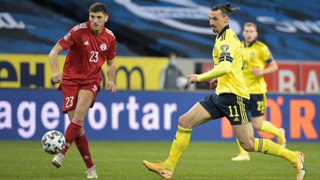 Zlatan Ibrahimovic (re.) (Bild: AP)
