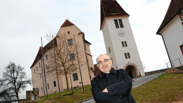 Schloss Seggau, das Refugium auf dem Seggauberg (Bild: Christian Jauschowetz)