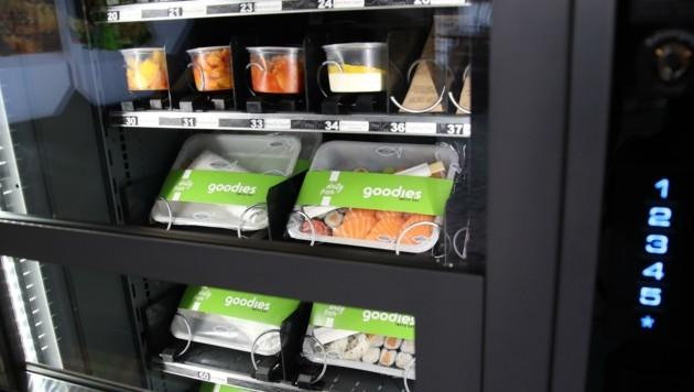 """Sushi und andere asiatische """"Goodies"""" gibt es auf Knopfdruck (Bild: Tröster Andreas)"""