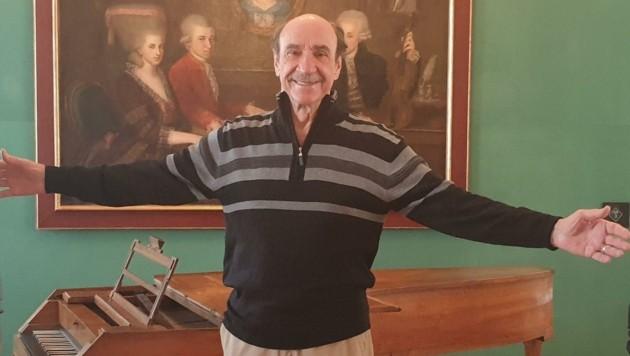 F. Murray Abraham ist ein Mozart-Fan. (Bild: Rainer Heneis)