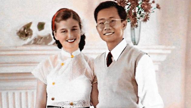 Inge Sargent heiratete 1953 in Denver den burmesischen Studenten Sao Kya Seng. (Bild: Rojsek-Wiedergut Uta)
