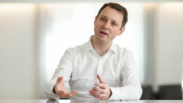Mixteresting-Geschäftsführer Franz Haller (Bild: Markus Wenzel)