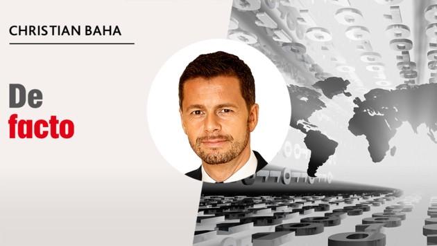 Christian Baha ist Börsenexperte und gründete 1993 den ersten Börsen-Terminal Österreichs, der Daten in Echtzeit liefert. 1996 etablierte er den weltweit ersten Hedge-Fonds für Privatanleger, der seit Beginn durchschnittlich 7,5 Prozent Performance pro Jahr erzielte. Mithilfe automatisierter Computer-Handelssysteme wird versucht, Gewinne bei steigenden wie fallenden Märkten zu erzielen. Christian Baha verfolgte stets die Vision, Fonds für Vermögende auch kleineren Anlegern zugänglich zu machen. (Bild: stock.adobe.com, Krone KREATIV)