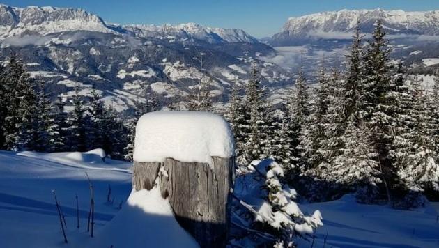 Herrlicher Ausblick vom Gaisberg (Bild: Peter Stankovic)