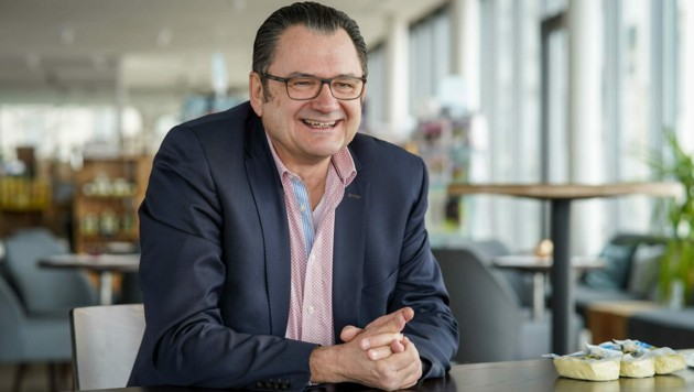 Geschäftsführer Fritz Mitterhumer (Bild: Markus Wenzel)