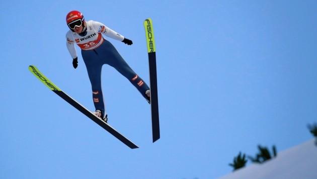 Daniela Iraschko Stolz (AUT). holte bei der WM in Oberstdorf Gold und Bronze. (Bild: Kronen Zeitung)