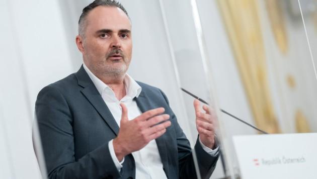 Der burgenländische Landeshauptmann Hans Peter Doskozil (SPÖ) (Bild: APA/Georg Hochmuth)