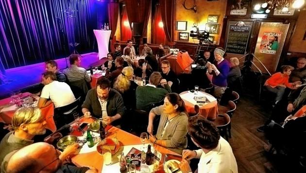 Heimat des steirischen Kabaretts: das Grazer Theatercafé (Bild: © Fotoatelier Gert Heide/fotonestroy.com)
