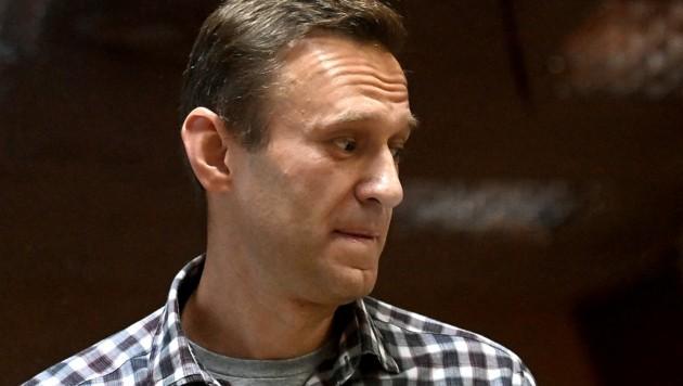Alexej Nawalny ist in einen Hungerstreik getreten. (Bild: APA/AFP/Kirill KUDRYAVTSEV)