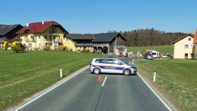 (Bild: Feuerwehr Lamprechtshausen)