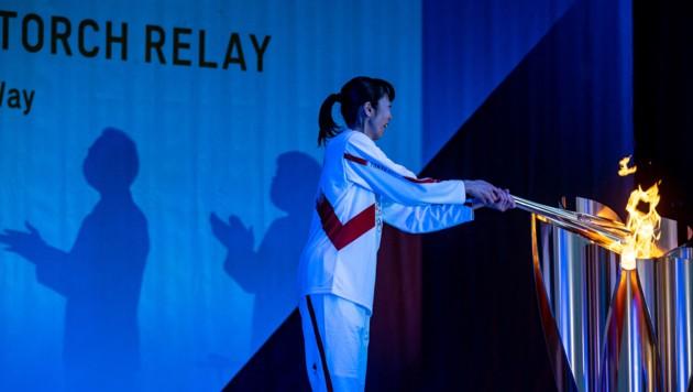 Motoko Obayashi, frühere Volleyball-Olympionike. (Bild: AFP or licensors)