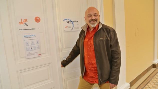 Stephan Rabl wurde von Gesellschaftern gezeigt, wo die Tür ist (Bild: Hörmandinger Reinhard)
