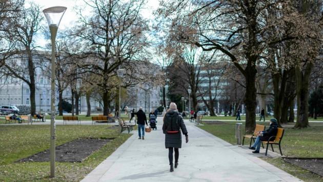 Der Volksgarten in Linz (Bild: Horst Einöder/Flashpictures)