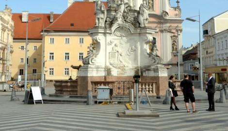 Niederösterreich verlängert wie Wien den Lockdown - im Bild St. Pölten. In Eisenstadt will man noch abwarten. (Bild: APA/HERBERT PFARRHOFER)