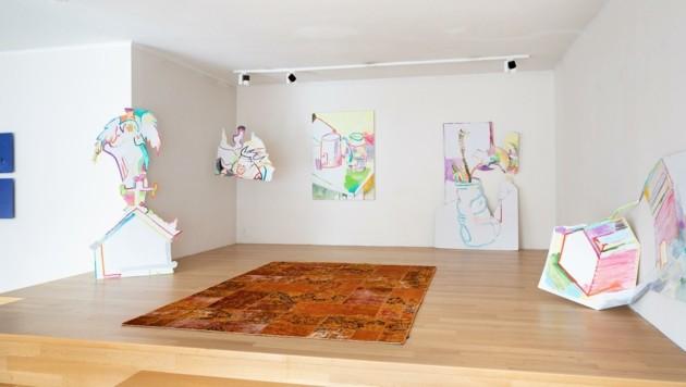"""""""Kaleidoskop 4"""": Der Titel der Ausstellung steht für die künstlerische Vielfalt. (Bild: Rudolf Strobl)"""