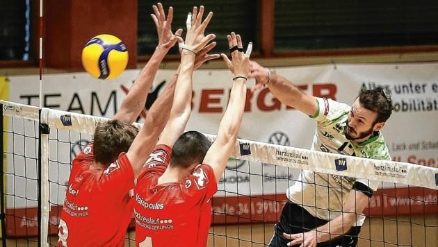 UVC-Top-Scorer Lorenz Koraimann war von Waldviertel bisher nur schwer zu stoppen. (Bild: GEPA pictures)