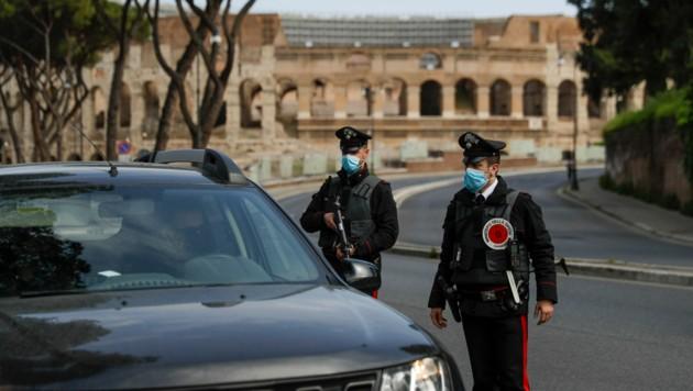 Carabinieri in Rom (Bild: AP)