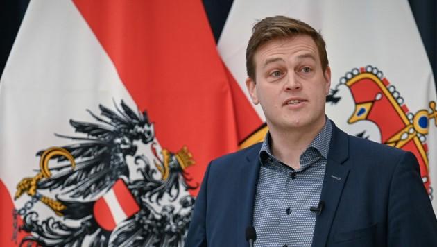 Stefan Kaineder, Chef der oberösterreichischen Grünen (Bild: Alexander Schwarzl)