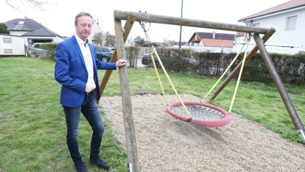 """Tschürtz: """"Eltern klagen über Probleme auf dem Spielplatz"""" (Bild: Judt Reinhard)"""