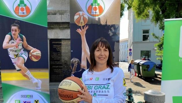 Vanessa Ellis führte UBI Graz ins Basketball-Finale. (Bild: Michael Gratzer)